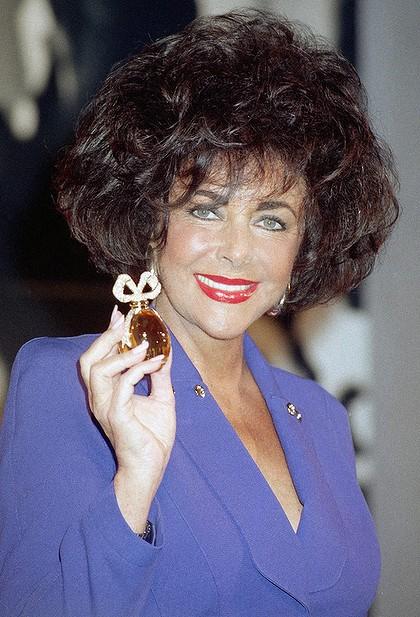 Elizabeth Taylor White Diamonds Parfum The Muse In Wooden
